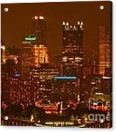 Evening In The City Of Champions Acrylic Print