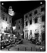 Evening In Tuscany Acrylic Print