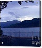 Evening Light At Inversnaid Acrylic Print