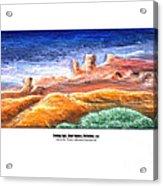 Evening Light Ghost Ranch Acrylic Print