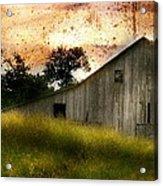 Evening Light Over Taylor Farm Acrylic Print