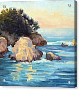 Evening Light Point Lobos Acrylic Print
