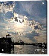 Evening Marina Acrylic Print