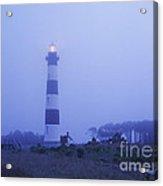 Evening Mist On Bodie Island - Fm000080 Acrylic Print