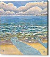 Evening North Myrtle Beach Acrylic Print