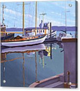Evening on Malaspina Strait Acrylic Print