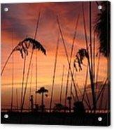 Evening On The Beach Acrylic Print