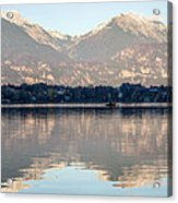 Evening Over Lake Bled Acrylic Print