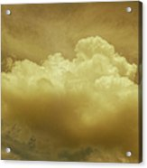 Evening Rain Cloud Acrylic Print