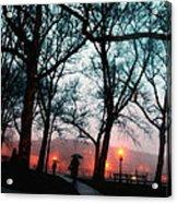 Evening Rain Photofresco Acrylic Print