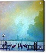 Evening Romance - Venice Acrylic Print