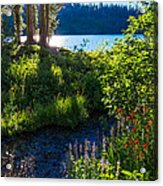 Evening Shadows At Lake George Acrylic Print