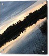 Evening Slide Acrylic Print