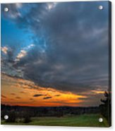 Evening Slides In Acrylic Print