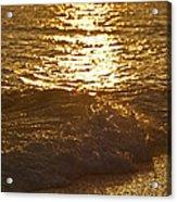 Evening Sun Hive Beach Four Acrylic Print