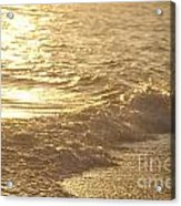 Evening Sun Hive Beach Three Acrylic Print