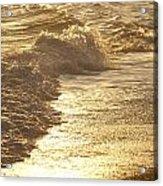 Evening Sun Hive Beach Two Acrylic Print
