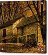 Evening Twilight Fades Away Acrylic Print