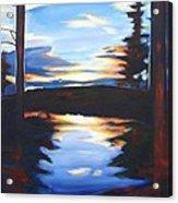 Evening View Acrylic Print