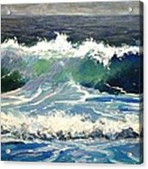 Evening Wave Acrylic Print