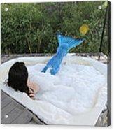 Everglades City Florida Mermaid 017 Acrylic Print