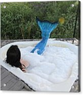 Everglades City Florida Mermaid 018 Acrylic Print
