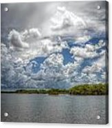 Everglades Lake 6919 Acrylic Print by Rudy Umans