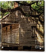 Evergreen Plantation Slave Quarters Acrylic Print