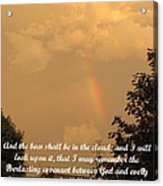 Everlasting Covenant Acrylic Print