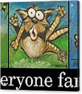 Everyone Farts Poster Acrylic Print