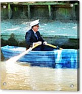 Everyone Is The Captain Of Their Own Boat Acrylic Print