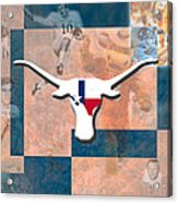 Everything Is Bigger In Texas Acrylic Print