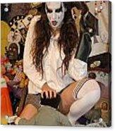 Evil Schoolgirl 105 Acrylic Print