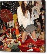 Evil Schoolgirl 207 Acrylic Print