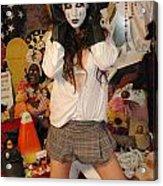 Evil Schoolgirl 217 Acrylic Print