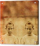 Evil Twins Acrylic Print