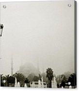 A Misty Day Acrylic Print