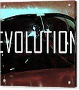 Evolution Acrylic Print