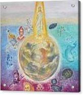 Evolution Of The Spirit In Matter Acrylic Print