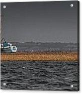 Evolution On The Swale Acrylic Print