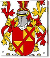 Ewing Coat Of Arms Irish Acrylic Print