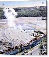 Excelsior Geyser, Yellowstone Np, 20th Acrylic Print
