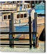 Excursion Boat Acrylic Print