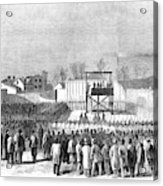 Execution Of Henry Wirzhenry Wirz Acrylic Print