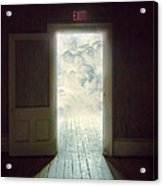 Exit Acrylic Print