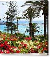 Exotic Beach Acrylic Print