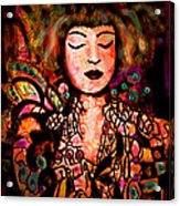 Exotic Beauty Acrylic Print