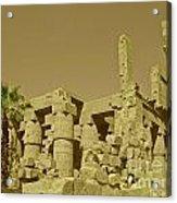 Exotic Egypt Acrylic Print