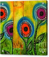 Exotic Halos - Wip Acrylic Print