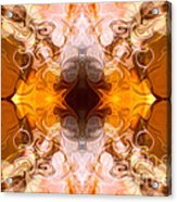 Exploding Ideas Abstract Pattern Artwork By Omaste Witkowski Acrylic Print